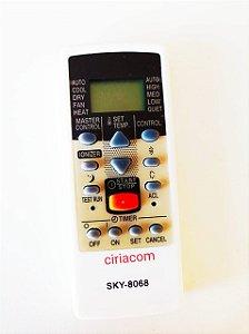 Controle Remoto de Ar Condicionado Split Fujitsu Ar-JE4 / Ar-JE5