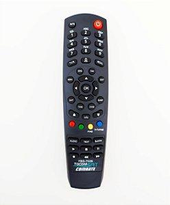 Controle Remoto Receptor Tocombox Energy HD / PFC HD / Zeus HD / Zeus IPTV