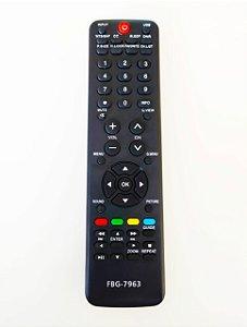 Controle Remoto TV LCD H-Buster Htr-d19, Hbtv32d01hd, 42d01hd