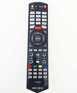 Controle Remoto TV LCD / LED STI SEMP TCL CT-6560 / CT-6390 / LE1958W / LE2458F