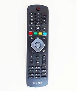 Controle Remoto para TV Philips 55PFG6519/78 42PFG6809/78 / 47PFG6809/78 / 55PFG6809/78