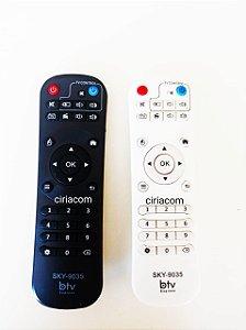 KIT C/ 2 Controles remoto Receptor BTV B9 Express BX B10 / BTV B8 / BTV B9 / BTVX B10