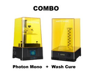 Combo Anycubic Photon Mono + Wash Cure Anycubic 2.0
