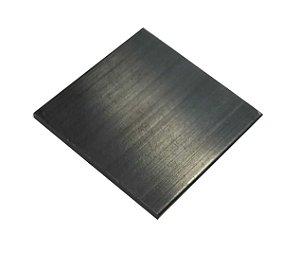Dissipador de Aluminio Para LED 1W 25x25x1.2mm TAX00219