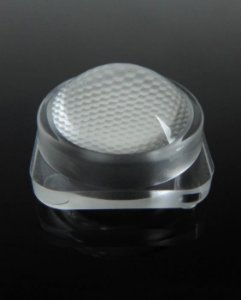 Lente 45 Graus 14.9x14.9mm Para LED 3030, 3535, 5050, 5730 K2513