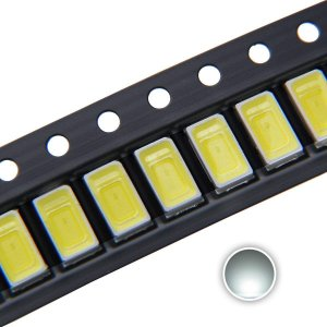 LED 5730 0.5W Branco Frio 6000K 24V SMD K2498
