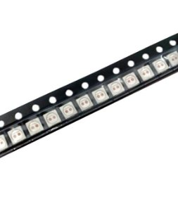 LED 1W 2V 3030 amarelo âmbar SMD K2491