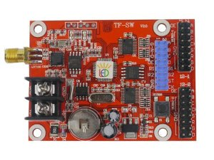 Placa Controladora TF-SW 2xHUB12 + 1xHUB08 + Antena Para Painel de LED K2549