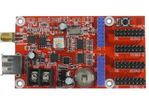 Placa controladora TF-A6UW 4xHUB12 + 2xHUB08 + Antena para Painel de LED K2548