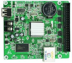 Placa Controladora TF-QS3N + Adaptador HUB75E005 (5xHUB75) Para Painel De LED K2547