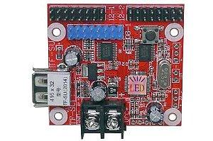 Placa Controladora TF-SU 2014 2xHUB12 + 1xHUB08 Para Painel De LED K2545