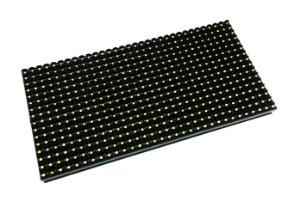 Módulo Painel LED P10 Branco 16x32PX 1/4 Scan HUB12 P10(1R) Interno K2540