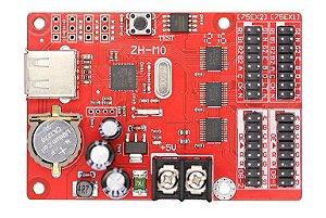 Placa Controladora ZH-M0 2*HUB75 + 2*HUB08 Para Painel de LED K2582