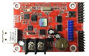 Placa Controladora TF-S6UW0  2xHUB12 + 1xHUB08 Para Painel de LED K2581