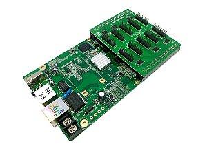 Placa Controladora TF-QB3 + Adaptador HUB75Q010 Para Painel de LED K2574