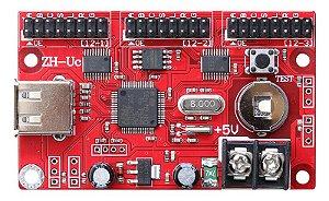 Placa Controladora ZH-Uc 3xHUB12 Para Painel de LED K2572