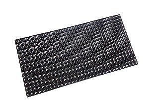 Módulo Painel LED P10 RGB DIP246 32x16PX 1/4 Scan HUB75 Externo K2566