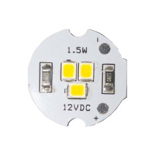 Módulo LED 1.5W Branco Quente 3000K 19mm 12VDC EXK2506