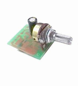 Fonte Driver Para 1 A 6 LEDs De 3w Dimer Integrado 12-24V 33866