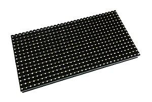 Módulo Painel LED P10 Branco 16x32PX 1/4 Scan HUB12 P10C4V2.2 Interno K2477