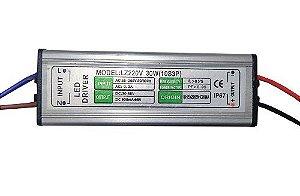Fonte Driver para LED de 30W Bivolt IP67 K2426