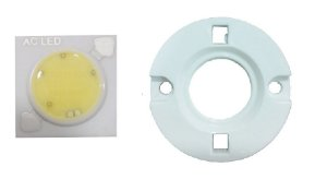 LED 3W Branco Quente 3000K Driverless 220VAC 1414D10 K2419