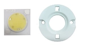 LED 5W Branco Quente 3000K Driverless 110VAC 1414D10 K2416