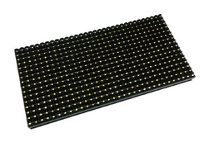 Módulo Painel LED P10 Branco 16x32PX 1/4 Scan HUB12 P10C4V2.2 Externo K2391