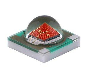 Power LED 3W Amarelo Ambar 585-595nm 3535 SMD K2376