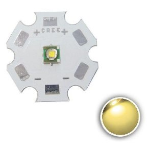 Power LED 1W Branco Quente 3000-3200K 3535 SMD K2366