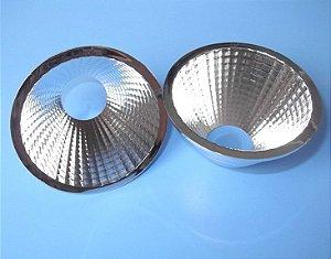 Refletor 24 Graus em Plástico Cromado Para LED COB KB-D75-24RF 75mm K2343