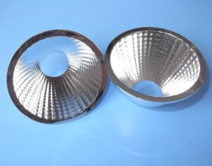 Refletor 38 Graus em Plástico Cromado Para LED COB KB-D69-38RF 69mm K2341
