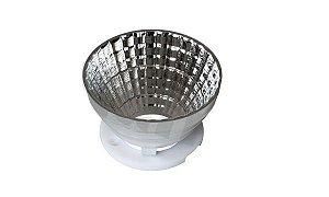 Refletor 38 Graus em Plástico Cromado Para LED CREE CXA25xx 50mm K2337