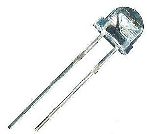 LED 5mm Branco Frio 5500-6000K Straw Big Chip 6-7lm K2324