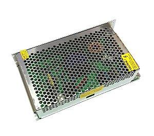 Fonte 5V/40A S-200-5 Bivolt 110/220VAC Com Chave Seletora Para Painel LED K2253