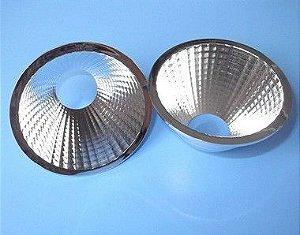 Refletor 60 Graus em Plástico Cromado Para LED COB KB-D69-60RF 69mm K2215