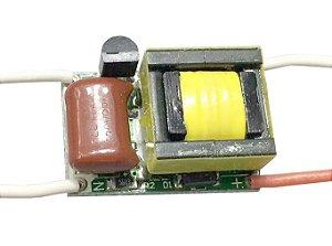 Fonte Driver para 3 LEDs de 1W dimerizável 220V K2191