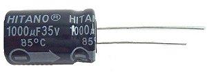 Capacitor Eletrolítico Rd 1000uf/35v PTH 108600
