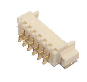 Conector 6 Vias 180 Graus B0112