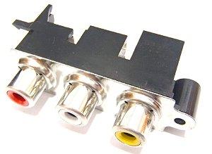 Conector Jack RCA AV B0287