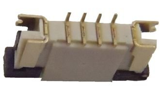 Conector ZIF FPC 1.0MM 4 pinos K0247