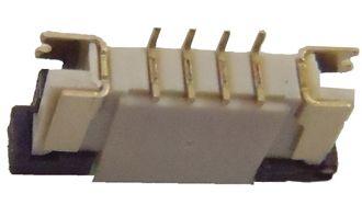 Conector ZIF FPC 1.0MM 4 pinos K0247