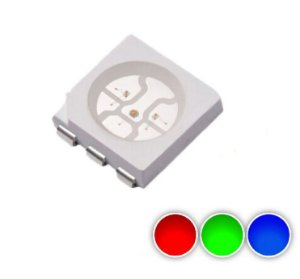 LED RGB 5050 Mini Plcc6 SMD K0189