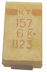 Capacitor De Tântalo 150uf/6.3v Size D Smd K0106