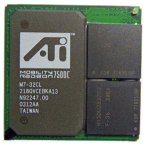 Chipset BGA 21qvcebka13 Ati Radeon 7500c K0278