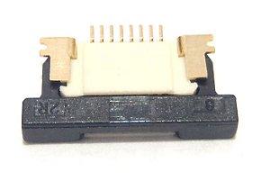 Conector ZIF FPC 0.5MM 8 Pinos K0257