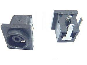 Conector Dc Jack PJ004 90 graus compatível monitor Samsung e LG K0871