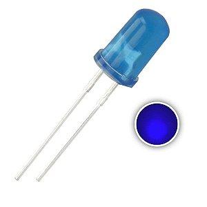 LED 5mm Difuso Azul 465-470nm K1229
