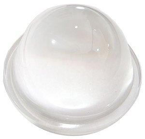 Lente 60 Graus em Vidro Para LED de 10W a 200W 66mm com Suporte Inox K1169