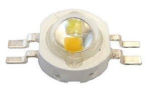 LED De Potência 6w Híbrido Branco Quente/Frio K1118